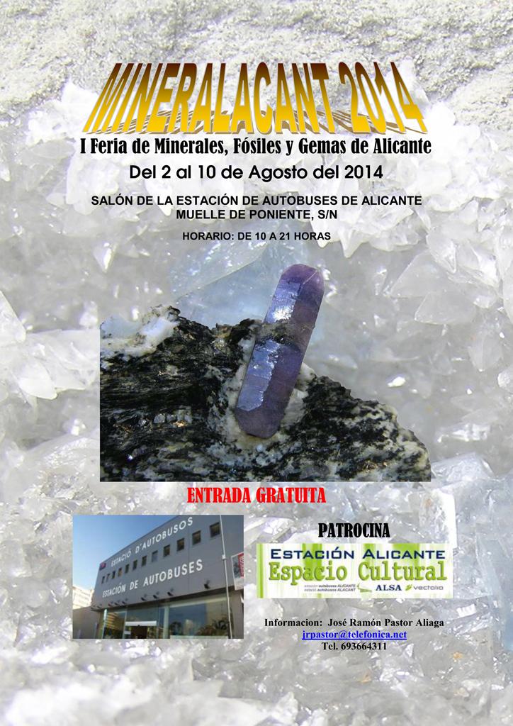 I Feria de Minerales, Fósiles y Gemas