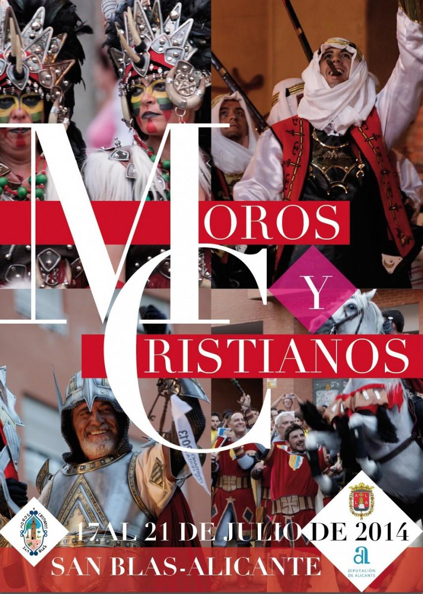 Moros y Cristianos de San Blas 2014. Del 11 al 21 de Julio del 2014