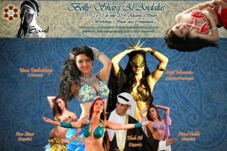 Festival de danza y cultura árabe.
