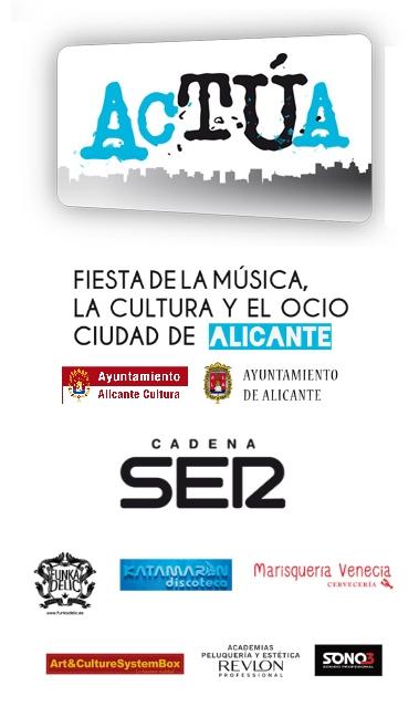 La fiesta de la música y de la cultura Actúa Alicante organiza 35 actuaciones para para los días 4 y 5 de Julio