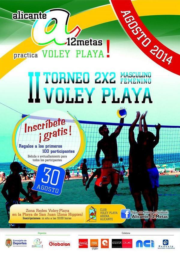 II torneo de Voley Playa