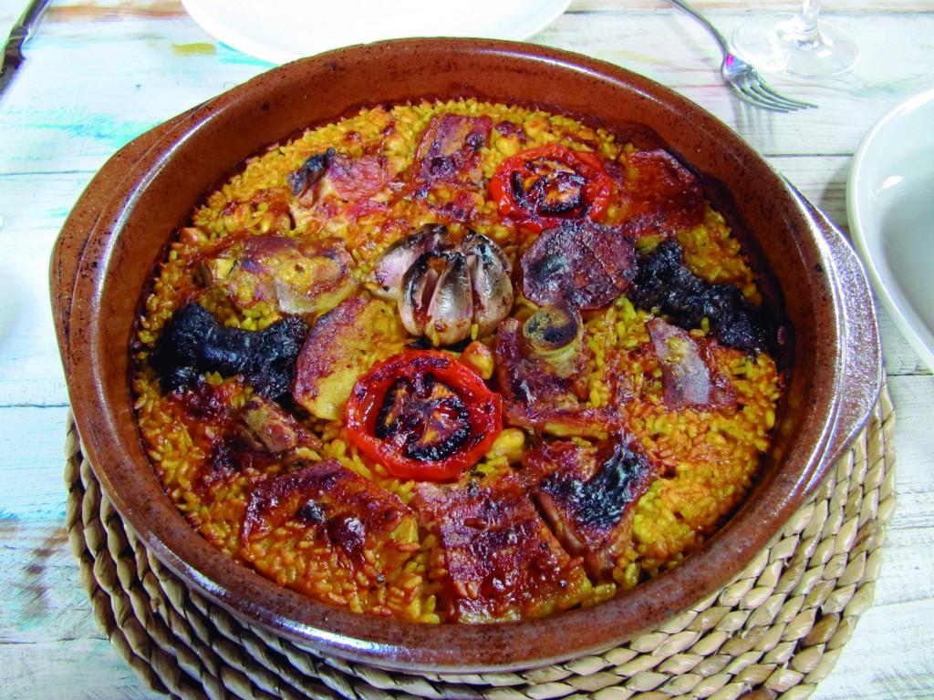 recetas típicas, arroz al horno