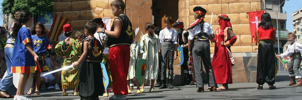 Moors and Christians Festivals/ Moros y Cristianos Altozano Alicante