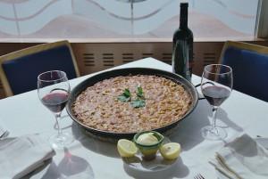 Arroz a banda Arroz tipico Alicante2. Typical rice dish from Alicante2 copia