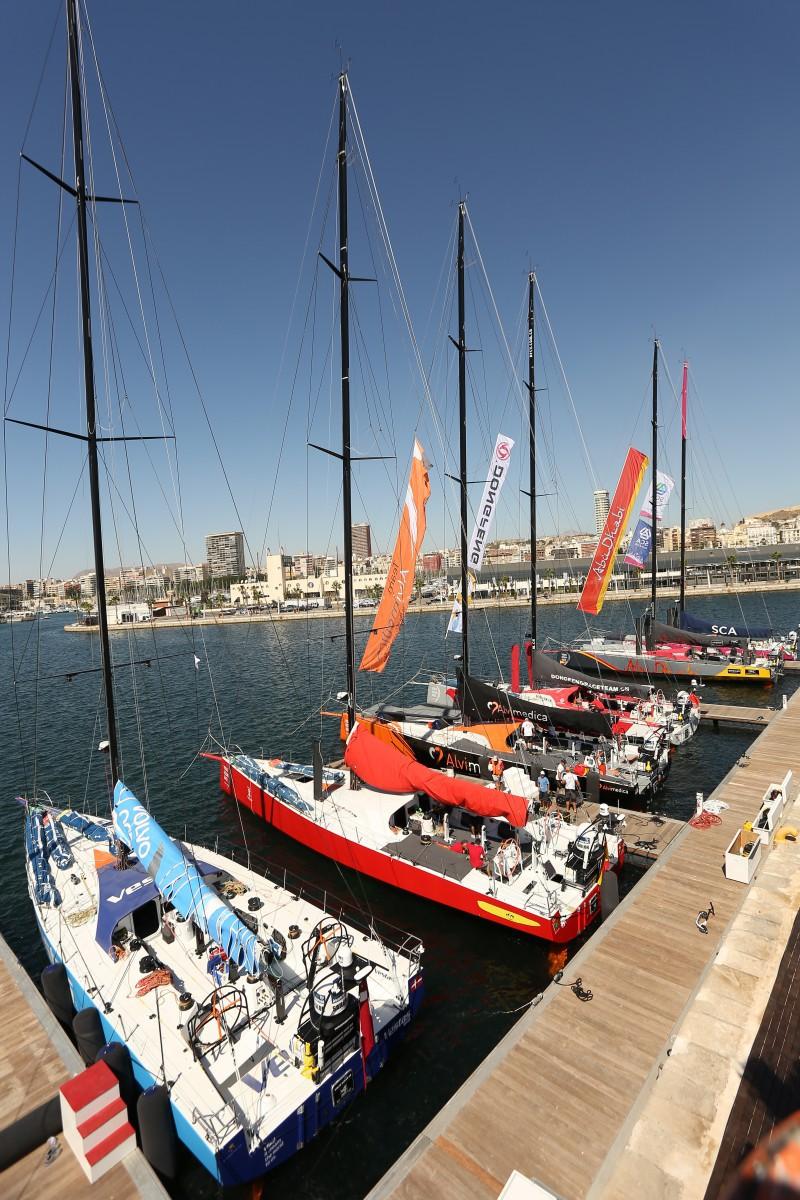 Javier Escandell:Volvo Ocean Race Alicante 2
