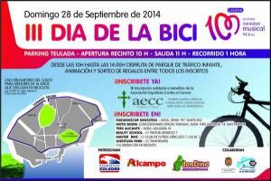 III Día de la Bici @ PARKING MERCADO TEULADA | Alicante | Comunidad Valenciana | España