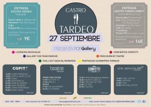 Gastro Tardeo en La Seda Gastro Village @ LASEDA GASTRO VILLAGE  | Alicante | Comunidad Valenciana | España