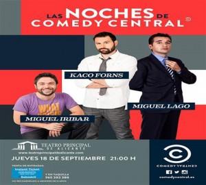 LAS NOCHES DE COMEDY CENTRAL @ Teatro Principal de Alicante | Alicante | Comunidad Valenciana | España