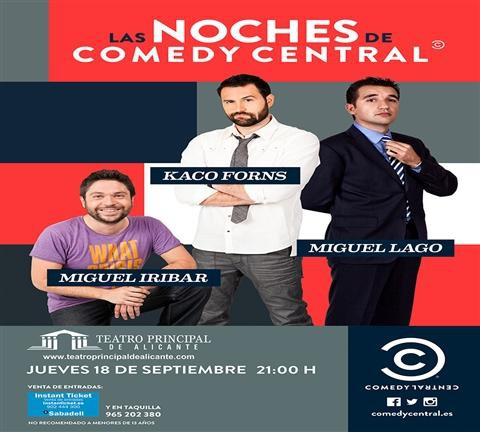 LAS NOCHES DE COMEDY CENTRAL
