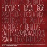 FIESTAS DEL RAVAL ROIG EN HONOR A LA VIRGEN DEL SOCORRO. Del 5 al 8 de Septiembre mójate en la fiesta más antigua de Alicante