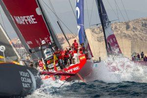 Regata In Port Race. VOLVO OCEAN RACE 2017-18 @ RACE VILLAGE ALICANTE   Alicante   Comunidad Valenciana   España
