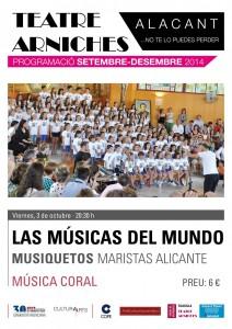 Concierto de Musiquetos en el Teatro Arniches @ Teatro Arniches | Alicante | Comunidad Valenciana | España