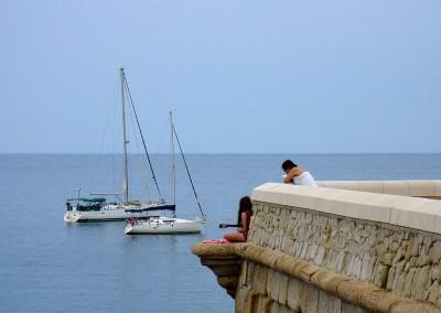 Isla de Tabarca. Tabarca island, Alicante Spain
