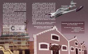 Exposición 75 años del ejército del Aire @ LAS CIGARRERAS