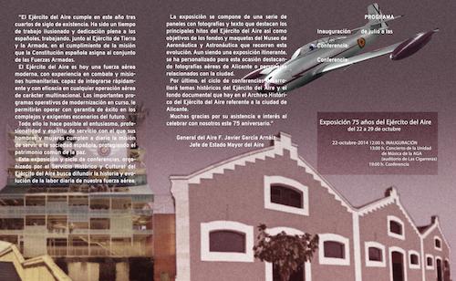 Exposición 75 años del ejército del Aire