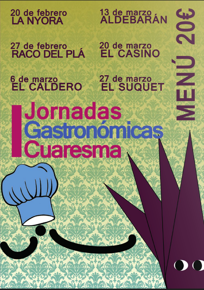 I Jornadas Gastronómicas de Cuaresma. Semana Santa de Alicante 2015