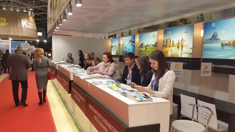 Alicante City continua con sus actividades promocionales acudiendo a la feria MITT Moscú 2015