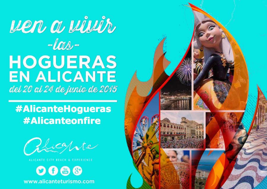 Hogueras de San Juan Alicante. Vive la Fiesta