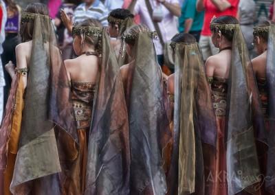 Foto cedidas por Akra Imagen fotógrafos. Moros y Cristianos en Alicante