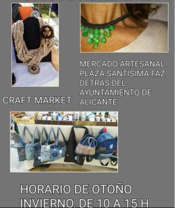 Mercado Artesano en Plaza Santísima Faz @ Mercado Artesano Plaza de Santísima Faz | Alicante | Comunidad Valenciana | España