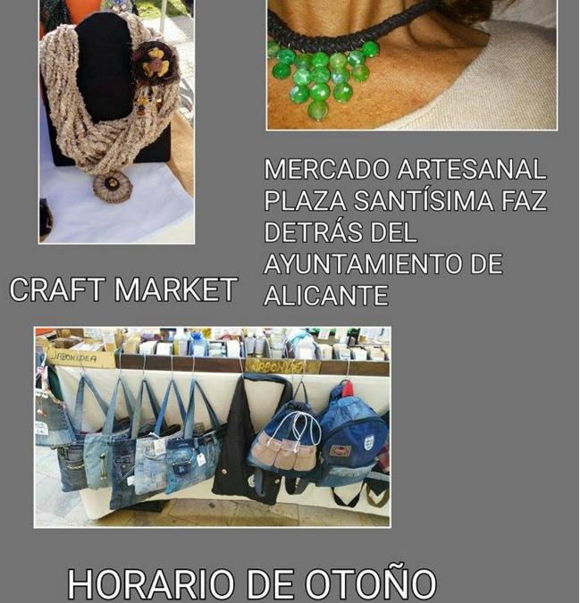 Mercado Artesano en Plaza Santísima Faz