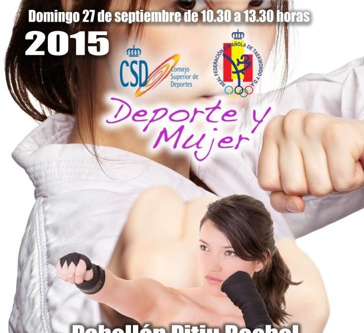Curso de defensa personal femenina en Pitiu Rochel