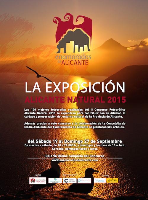 Exposición  II Concurso Fotográfico Alicante Natural 2015 en Las Cigarreras Cultura Contemporánea