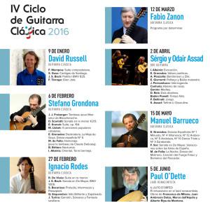 STEFANO GRONDONA - IV CICLO DE GUITARRA (ADDA) @ Auditorio de la Diputación de Alicante  | Alicante | Comunidad Valenciana | España