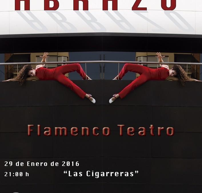 Pilar Andújar presenta Abrazo. Flamenco – Teatro