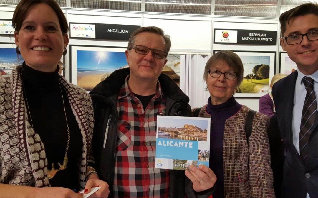 Alicante City acude a la feria internacional de turismo Matka en Helsinki del 21 al 24 de enero