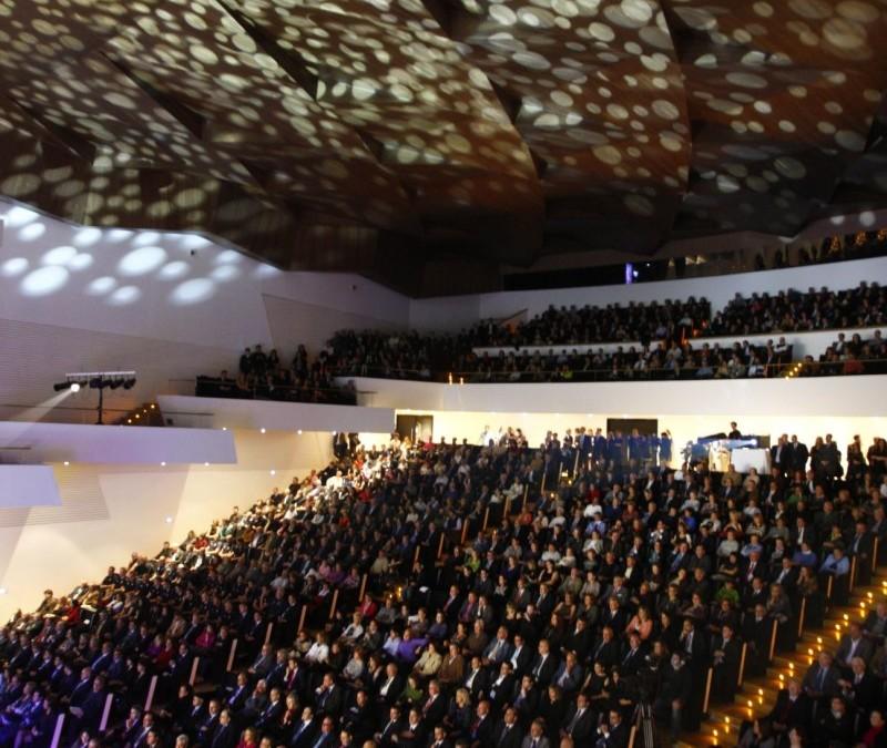 Festival de música gospel. Conmemoración 145 aniversario pieba.