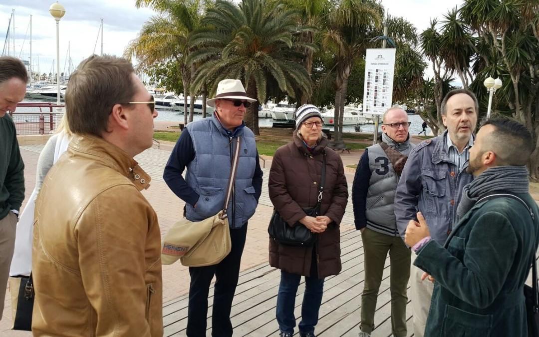 18 reconocidas empresas internacionales del sector MICE visitan Alicante