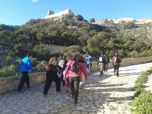 ITINERARIOS GUIADOS POR EL MONTE BENACANTIL @ Monte Benacantil | Alicante | Comunidad Valenciana | España