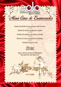 Cena de San Valentín en Eolo 2016 @ Eolo Restaurante Gastro | Alacant | Comunidad Valenciana | España