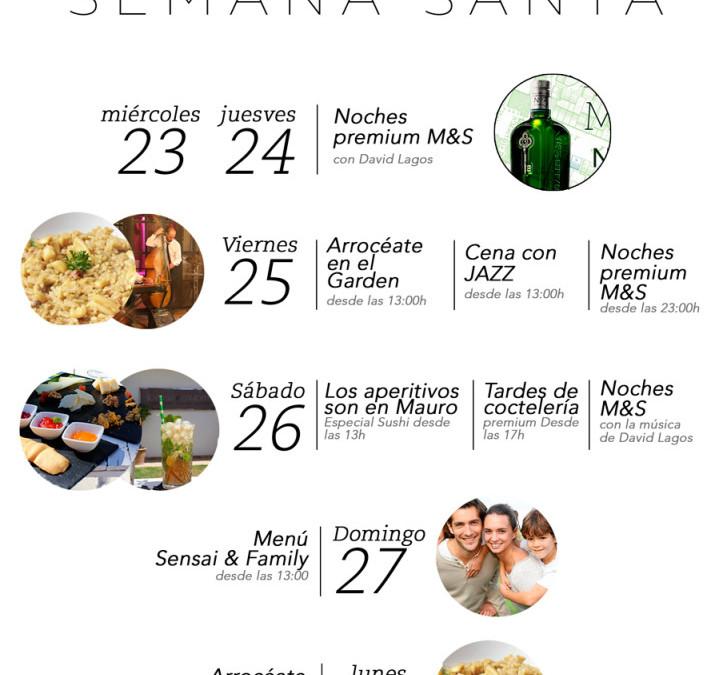 Semana Santa en Mauro & Sensai