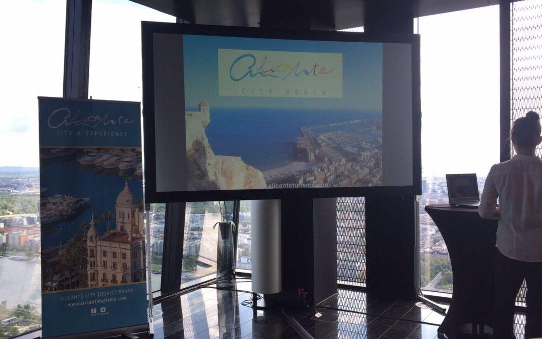 Presentación comercial y de destino Alicante en mercado austríaco. 26 de abril de 2016