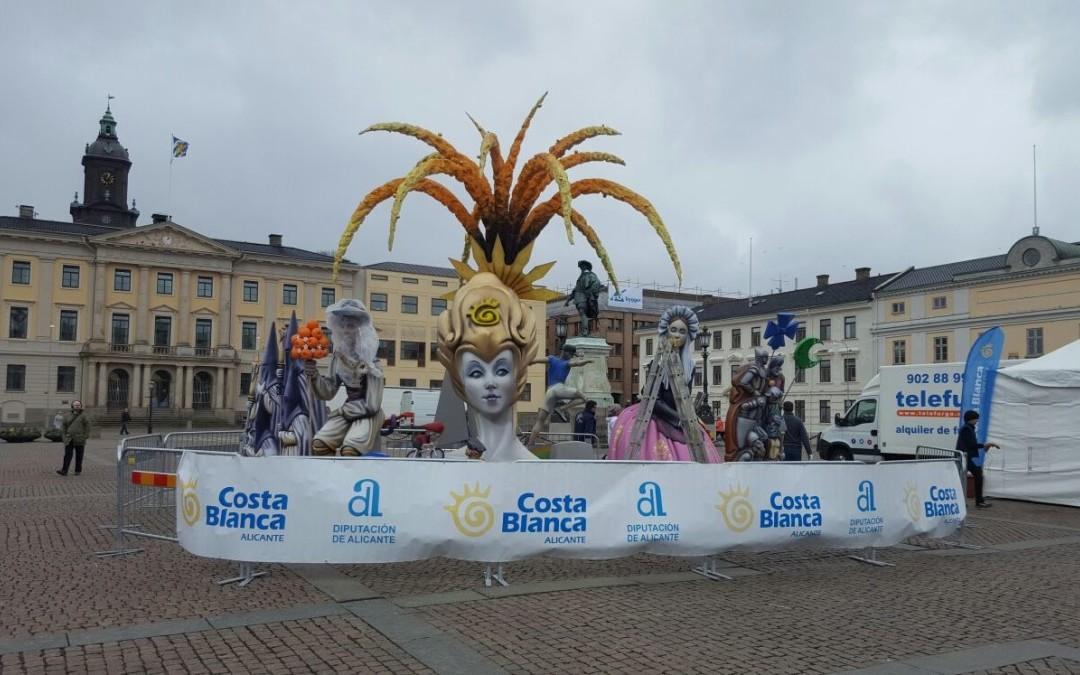 Les Fogueres de Sant Joan of Alicante conquer Sweden