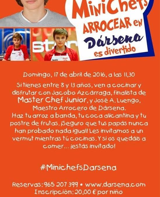 Taller Mini Chefs en Restaurante Dársena