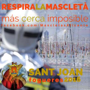 Concurso Respira La Mascletà @ Plaza de Los Luceros. Mascletaes Fogueres de Sant Joan 2016 | Alacant | Comunidad Valenciana | España