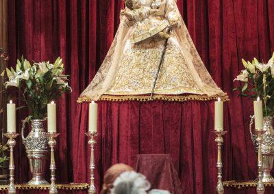 Ofrenda de Flores a la Virgen del Remedio. Fogueres de Sant Joan, Alicante.  Autor Borja Lopez