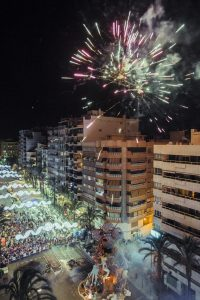 Fogueres de Sant Joan Friday 17th June @ Alicante | Alicante | Comunidad Valenciana | España