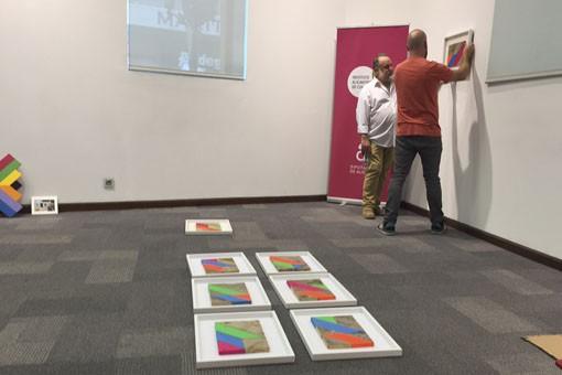 """Arte en la Casa Bardín – """"Kaleidoscopio"""", exposición de Kaufman"""