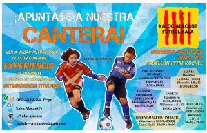 Fútbol Sala para niños en el pabellón Pitiu Rochel @ Pabellón Pitiu Rochel | Alicante | Comunidad Valenciana | España