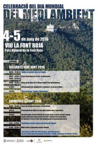 CEMA Font Roja: Celebración del Día Mundial del Medio Ambiente @ Parque Natural de la Font Roja | Alcoi | España
