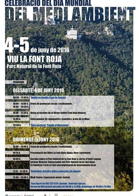 CEMA Font Roja: Celebración del Día Mundial del Medio Ambiente