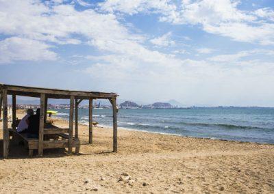 doggy beach 1- Playa Aguamarga Alicante
