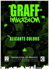 GRAFF INVASIÓN EXPOSICIÓN DE GRAFFITI EN LAS CIGARRERAS @ Las Cigarreras | Alicante | Comunidad Valenciana | España