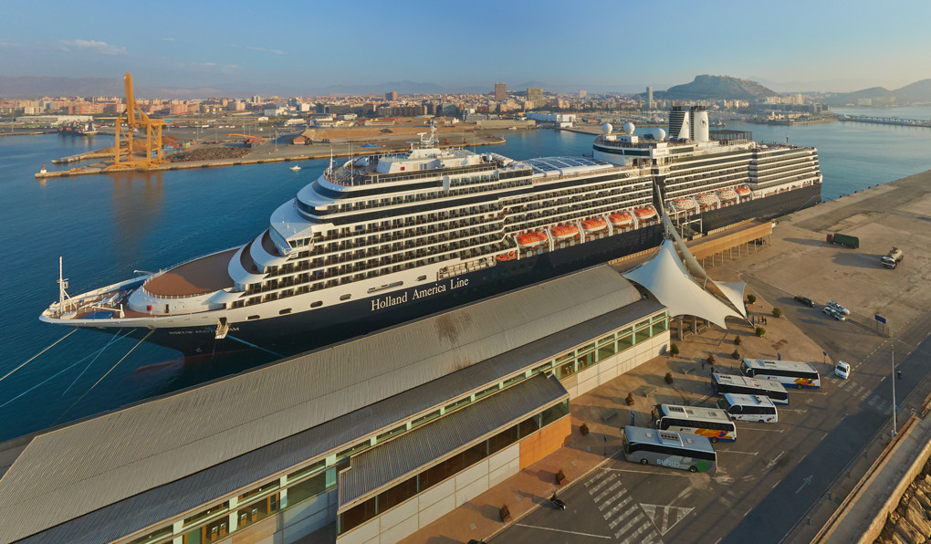 Escalas de Cruceros en Alicante 2019