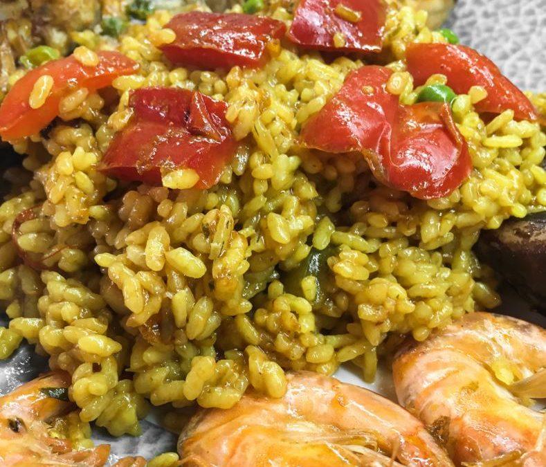 """Recipe Arroz a la alicantina """"Alicante-style rice"""""""