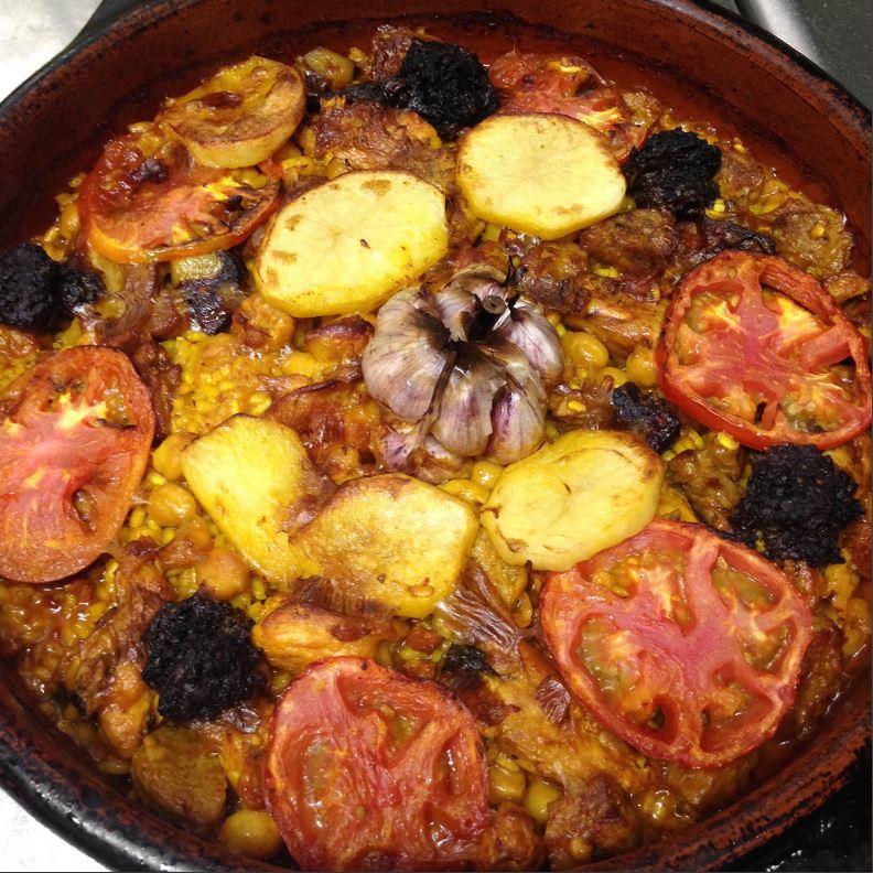 Receta de arroz al horno alicante city beach - Receta bogavante al horno ...